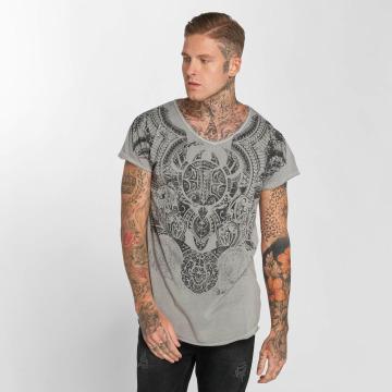 trueprodigy T-Shirt Maori Culture gray