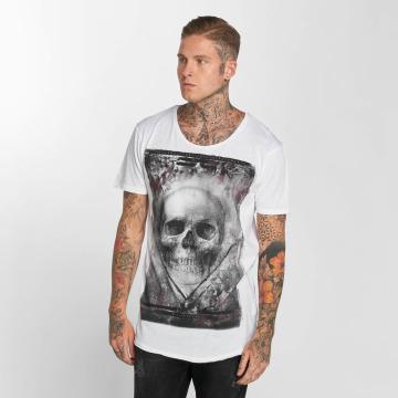 trueprodigy T-Shirty True Skull bialy