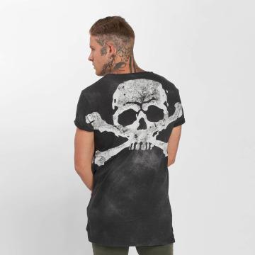 trueprodigy T-Shirty Skeletor szary