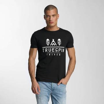 TrueSpin Футболка 8 черный