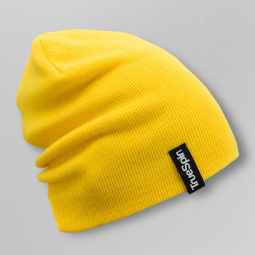 TrueSpin Beanie Basic Style geel