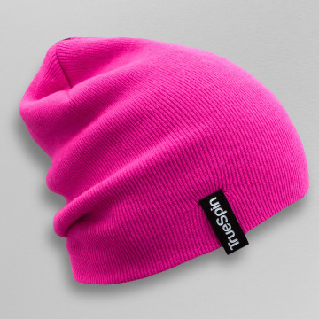 TrueSpin Beanie Basic Style pink