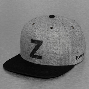 TrueSpin Casquette Snapback & Strapback ABC-Z Wool gris
