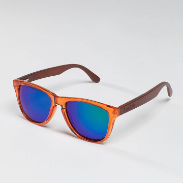 TrueSpin Gafas Nu Bamboo naranja