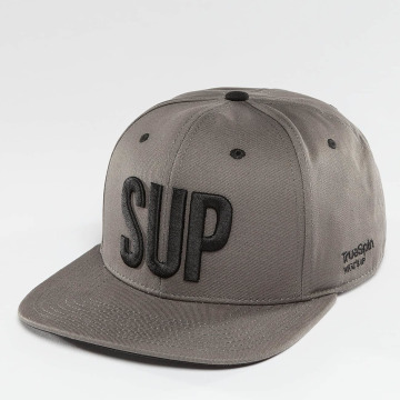 TrueSpin Gorra Snapback Shorty SUP gris