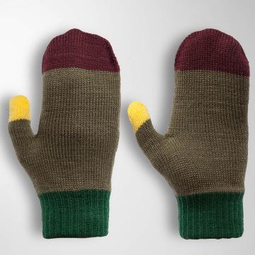 TrueSpin handschoenen Mittens olijfgroen