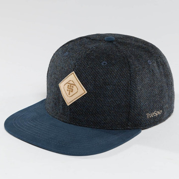 TrueSpin Snapback Cap Chevron blau