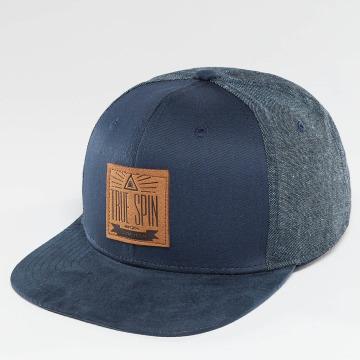 TrueSpin snapback cap New Velevet blauw