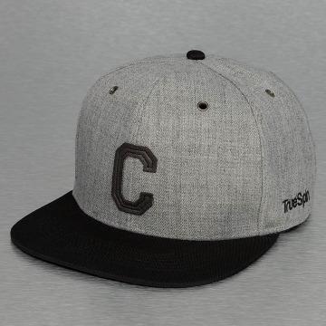 TrueSpin Snapback Cap ABC-C Wool grau