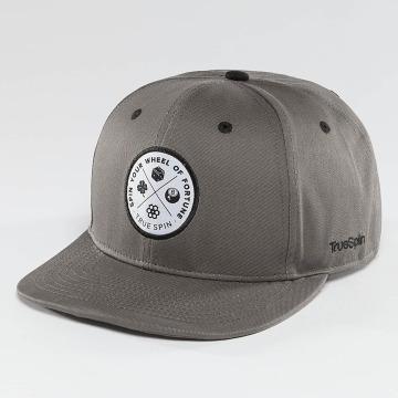TrueSpin Snapback Cap Luck grau