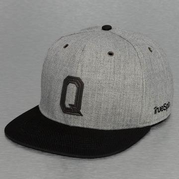 TrueSpin snapback cap ABC-Q Wool grijs