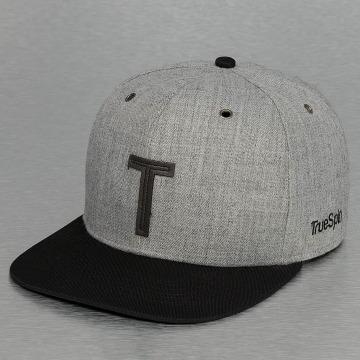 TrueSpin snapback cap ABC-T Wool grijs