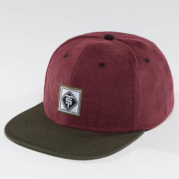 TrueSpin snapback cap Touchy rood