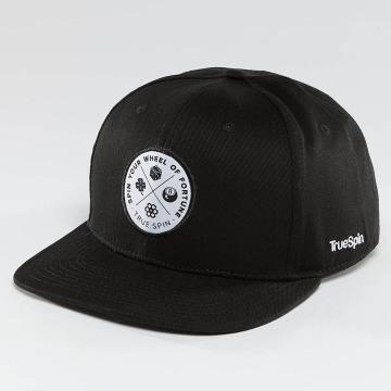 TrueSpin Snapback Cap Luck schwarz