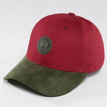 TrueSpin Snapback Caps Anker červený