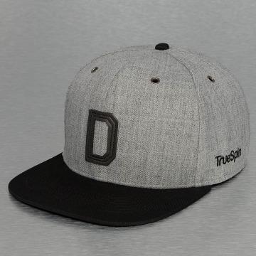 TrueSpin Snapback Caps ABC-D Wool grå