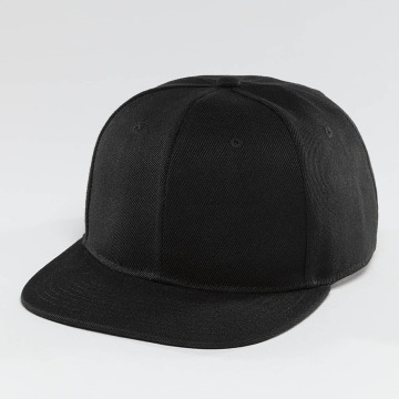 TrueSpin Snapback Caps Blank svart