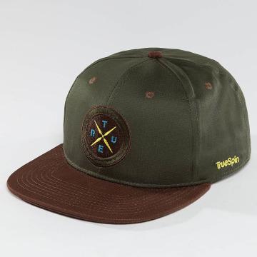 TrueSpin Snapback Caps Twister zelený