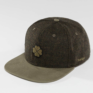 TrueSpin Snapback Caps Shamy zielony