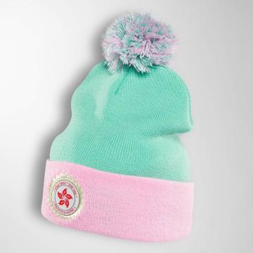 TrueSpin Winter Bonnet Mandarin green