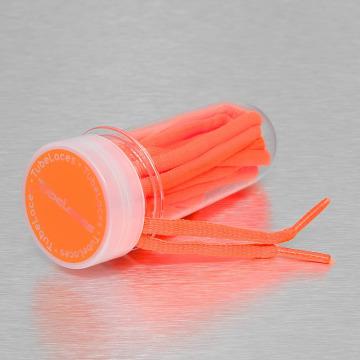 Tubelaces Accesoria de zapatos Pad Laces 130cm naranja