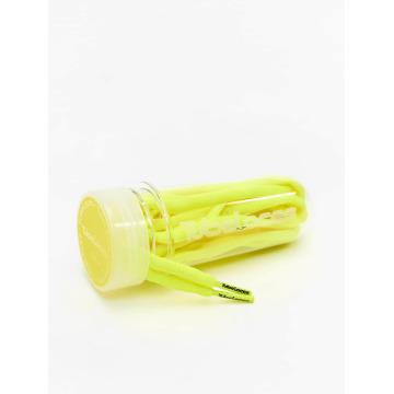 Tubelaces Kengännauhat Pad Laces 130cm keltainen