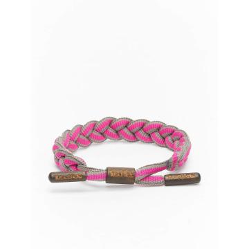 Tubelaces Rannekorut TubeBlet vaaleanpunainen
