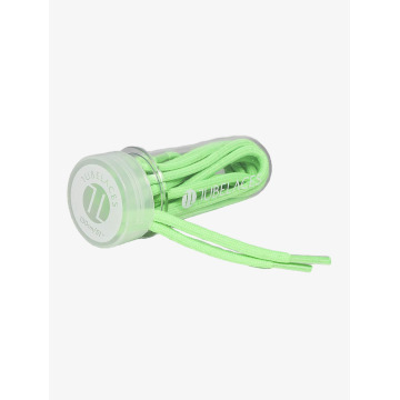Tubelaces Shoelace Rope Solid green
