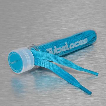 Tubelaces Snørebånd Flat Laces 140cm blå