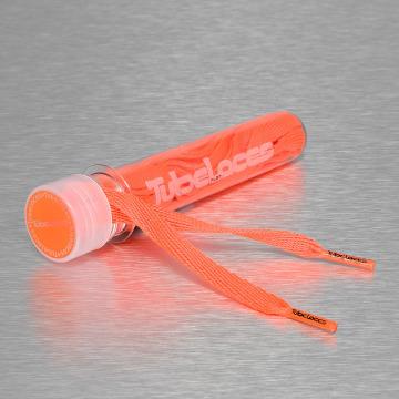 Tubelaces Snørebånd Flat Laces 140cm orange