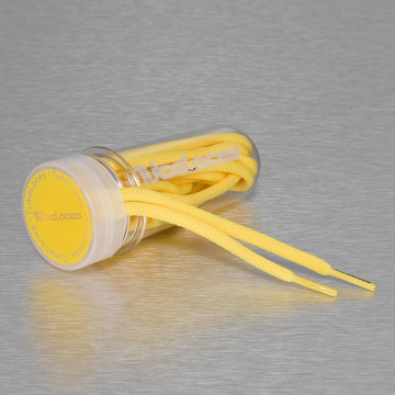 Tubelaces Veter Pad Laces 130cm geel