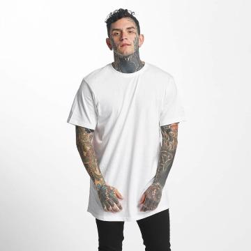 Tuffskull T-shirt longoversize nothing blanc