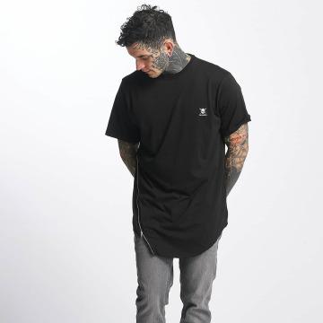 Tuffskull T-Shirty Zipline czarny