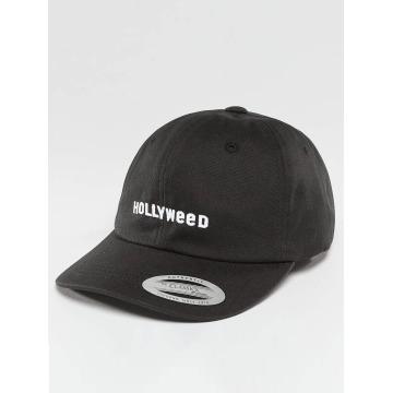 TurnUP Snapback Caps Hollyweed čern