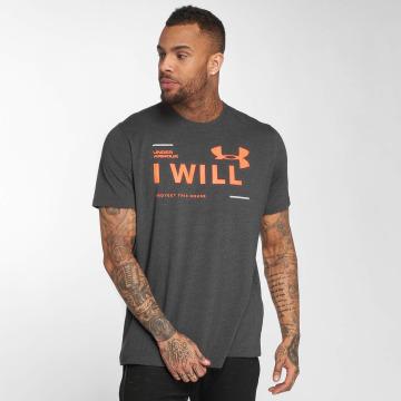Under Armour Camiseta I Will gris