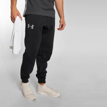 Under Armour Jogging kalhoty Rival Cotton čern