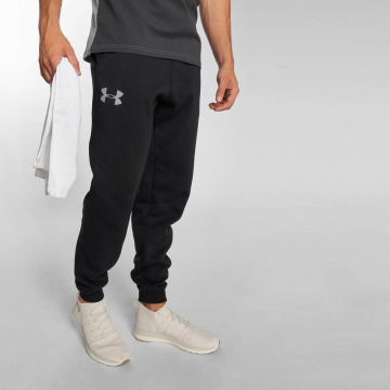 Under Armour joggingbroek Rival Cotton zwart