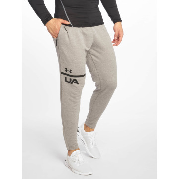 Under Armour Joggingbukser Tech Terry Tapered grå