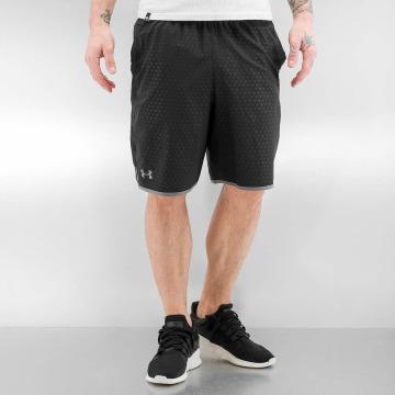 Under Armour shorts Qualifier Novelty zwart