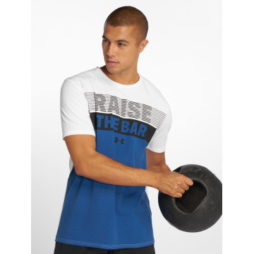 Under Armour T-Shirt Raise the Bar blanc