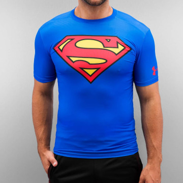 Under Armour T-Shirt Alter Ego Superman Compression bleu