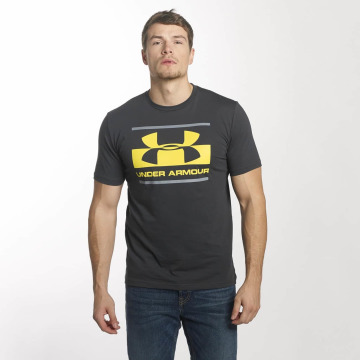 Under Armour T-Shirt Blocked Sportstyle grau