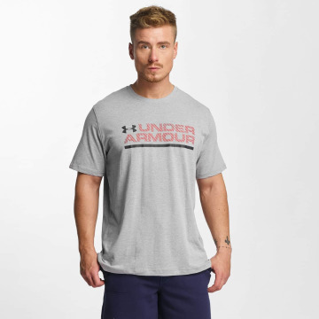 Under Armour T-Shirt Woodmark Lock Up gris