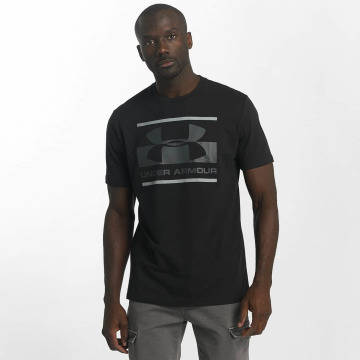 Under Armour T-Shirt Blocked Sportstyle noir