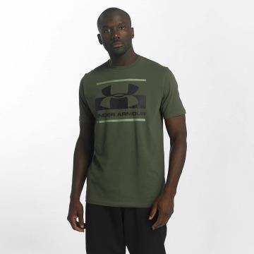Under Armour T-Shirt Blocked Sportstyle vert