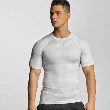 Under Armour T-shirt Heatgear Printed Shortsleeve Compression vit