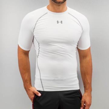 Under Armour T-shirts Heatgear Compression hvid