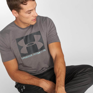 Under Armour Tričká Boxed Sportstyle šedá