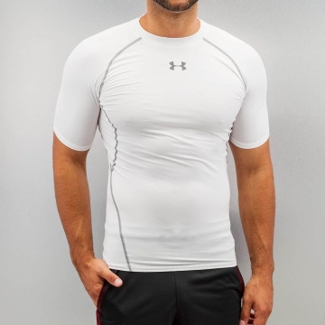 Under Armour Trika Heatgear Compression bílý
