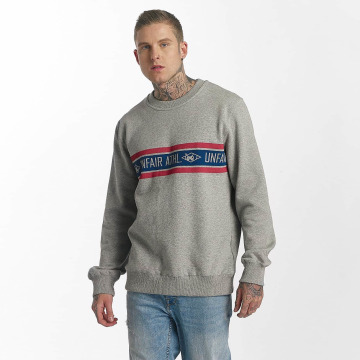 UNFAIR ATHLETICS Pullover Athl. Striped gray